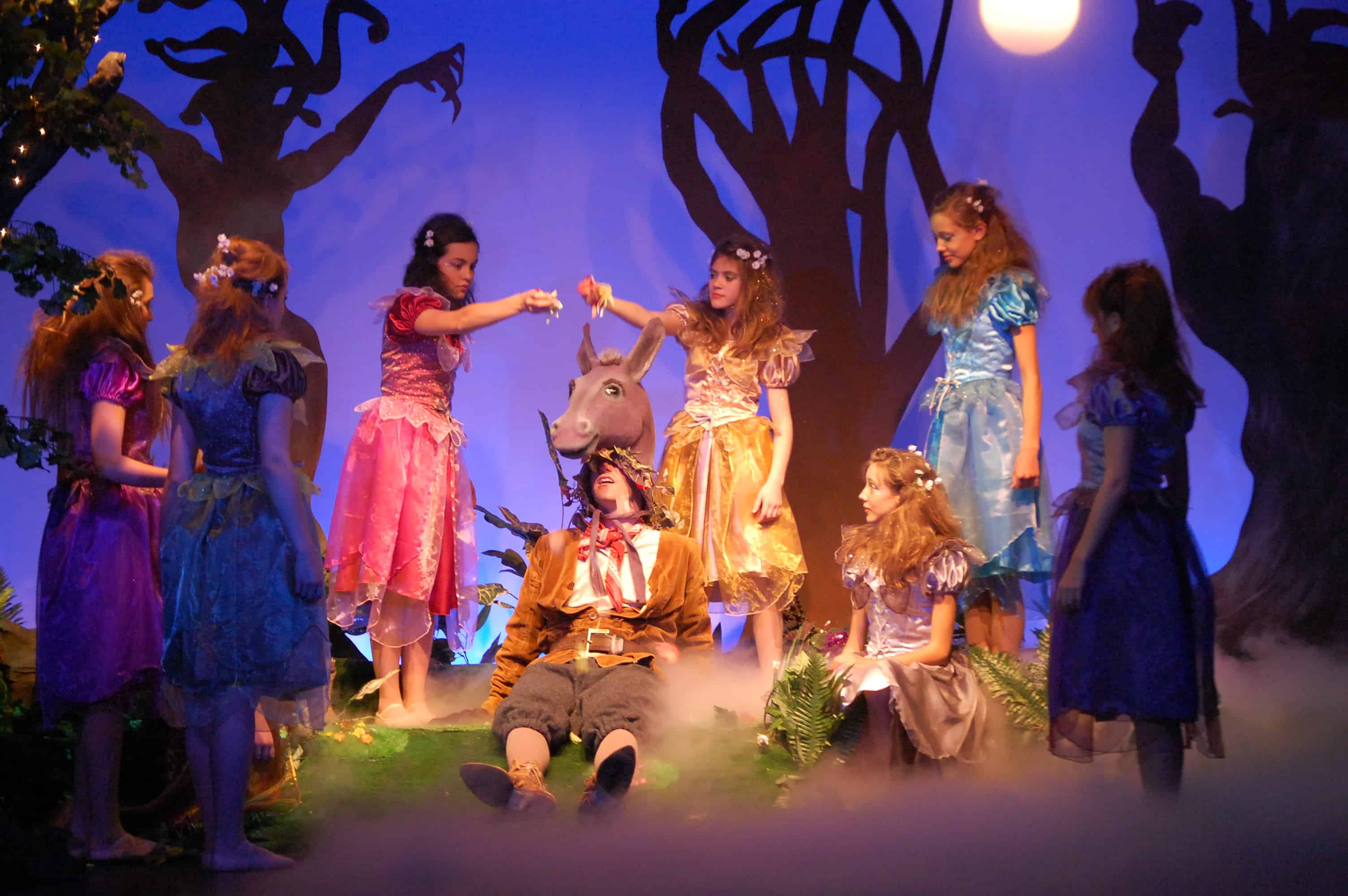 A Midsummer Nights Dream Cast | Oxted Players